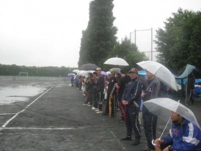 雨の中たくさんの応援ありがとうございました。