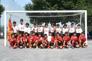 府中市少年サッカー大会2015