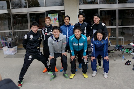 小野選手と仲間達